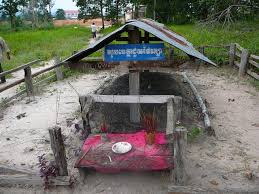 Grave of Pol Pot (Khmer Rouge Leader)