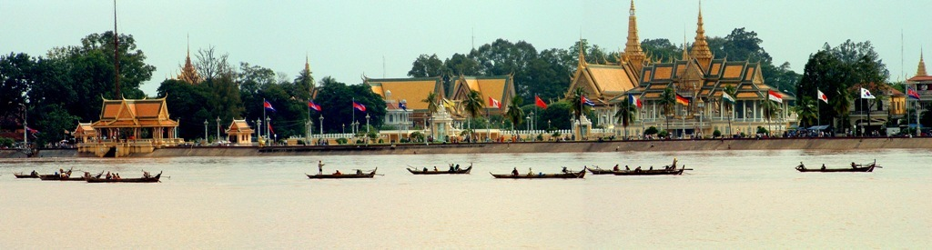 Water Front of Royal Palace